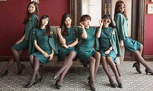 Dàn nữ tiếp viên hàng không Đài Loan xinh như ban nhạc thần tượng