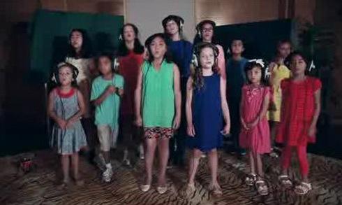 Video 45 ca sĩ nhí hát 'Heal The World' được chia sẻ nhiều