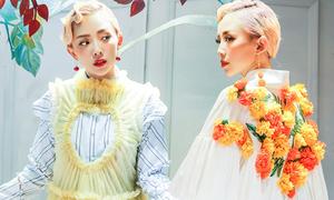 Tóc Tiên đầu tư trang phục ấn tượng cho sản phẩm mới