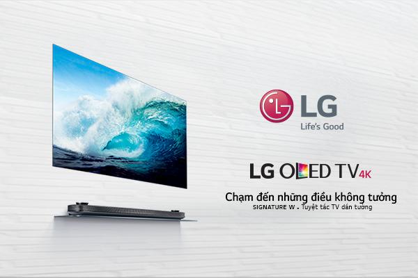 Sản phẩm tivi dán tường công nghệ cao từ LG.