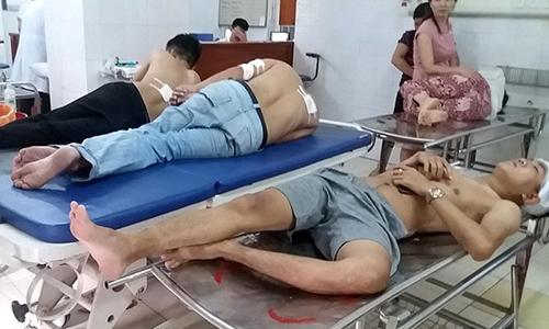 Côn đồ nổ súng ở Thanh Hóa khiến ba người bị thương