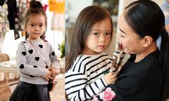 Con gái Đoan Trang sành điệu không kém mẹ