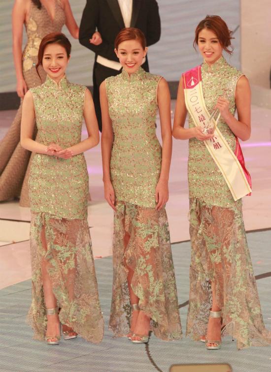 Trương Bảo Hân cao vượt trội so với các thí sinh của cuộc thi năm nay. Cô sinh năm 1994, đang theo học tại Đại học London.
