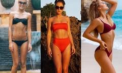 Siêu mẫu 23 tuổi tiết lộ bí quyết tăng 10 kg mà thân hình vẫn chuẩn