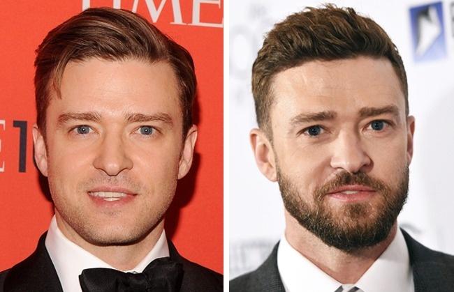 Justin Timberlake trở nên nam tính, trưởng thành hơn khi để râu.