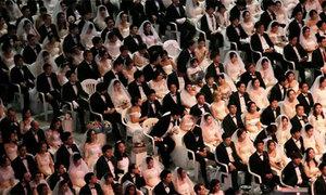 4.000 cặp đôi từ 64 quốc gia làm đám cưới tập thể ở Hàn Quốc