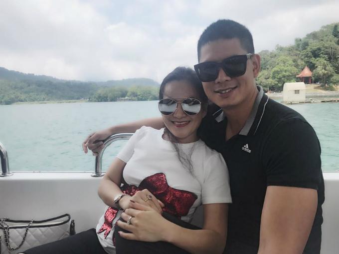 Vợ chồng Bình Minh đang có kỳ nghỉ lãng mạn ở Đài Loan.