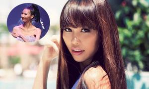 Siêu mẫu Hà Anh: 'Làm người mẫu phải tạo cho mình lớp da mặt dày'