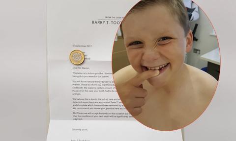 Bố mẹ viết thư giả làm tiên răng gửi con trai lười vệ sinh răng miệng