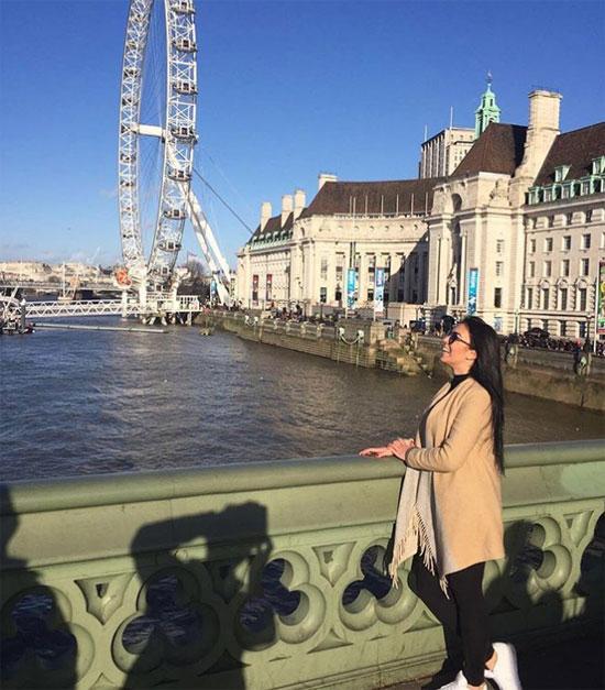 Georgina Rodriguez có thời gian ngắn sống ở Anh. Ảnh: NS.