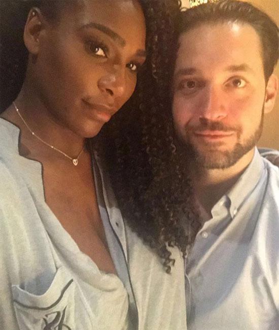 Serena Williams và người tìnhAlexis Ohanian.