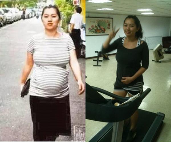 Mark Ma từng nặng tới 80 kg sau khi sinh con thứ tư.