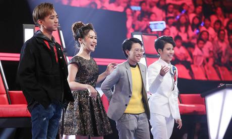 Tâp 5 vòng Giấu mặt - Giọng hát Việt nhí 2017