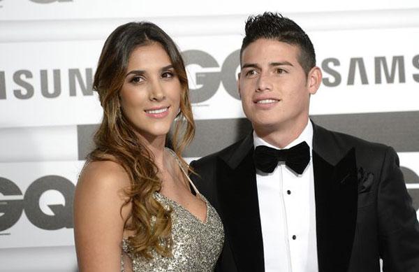 James Rodriguez và bà xã Daniela Ospina bị đồn trục trặc gần một năm nay.