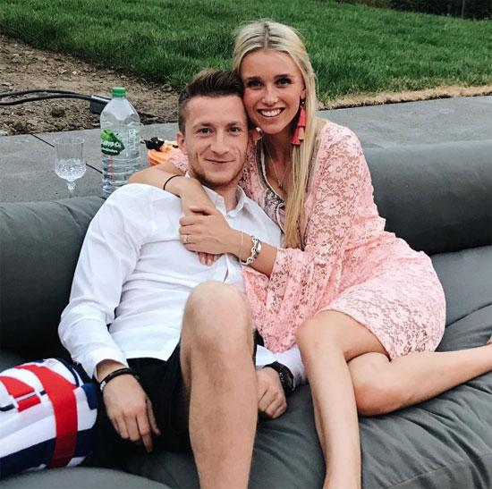 Marco Reus và Scarlett Gartmann là một trong những cặp đôi trai tài gái sắc được ái mộ tại Đức.