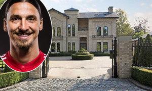 Ibrahimovic phải chuyển khỏi biệt thự sang trọng tại Manchester