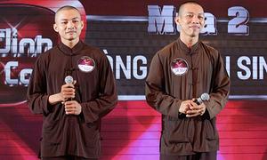 Nhà sản xuất xin lỗi về việc hai nhà sư đi thi hát gây ồn ào dư luận