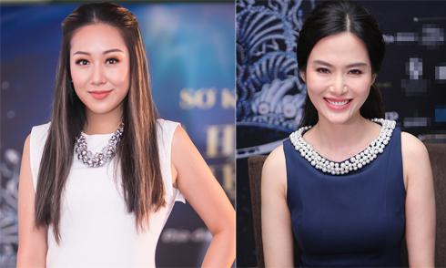 Hoa hậu Ngô Phương Lan, Thu Thủy rạng rỡ đi chấm thi