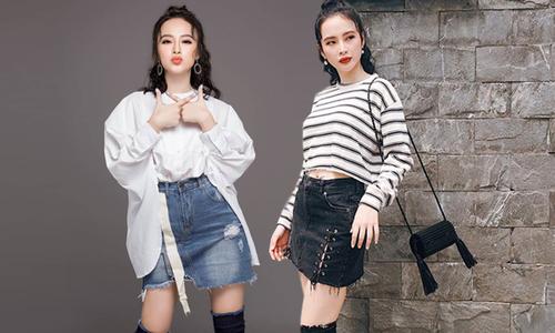 Angela Phương Trinh chọn váy ngắn khoe triệt để chân thon