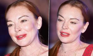 Lindsay Lohan xuất hiện với gương mặt khác lạ giữa tin đồn thẩm mỹ