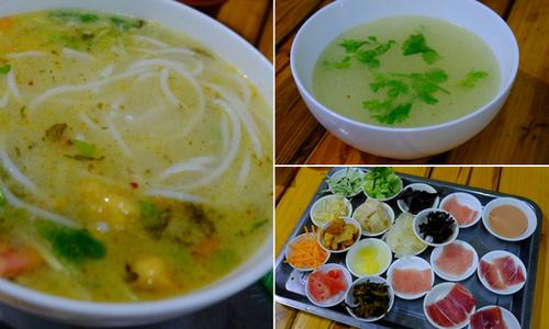 'Bún qua cầu' ở Vân Nam, Trung Quốc ăn nhanh kẻo nguội