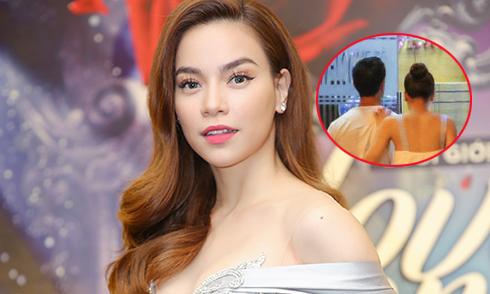 Hồ Ngọc Hà nói về việc bị bắt gặp vào khách sạn cùng Kim Lý lúc nửa đêm
