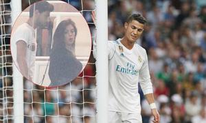 Bạn gái tới sân trong ngày trở lại 'ác mộng' của C. Ronaldo