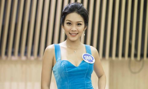 Con gái diễn viên Kiều Trinh bất ngờ thi Hoa hậu Đại dương