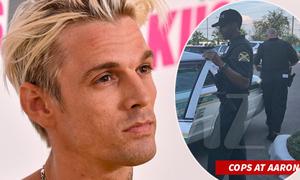 Cảnh sát vội vã đến nhà kiểm tra đề phòng Aaron Carter tự tử