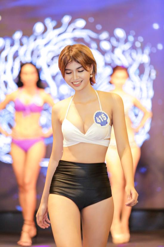 Nguyễn Thị Ngọc Tú (SN 1998), cao 1,70m đến từ TP.HCM, sinh viên Đại học Kinh tế TP.HCM