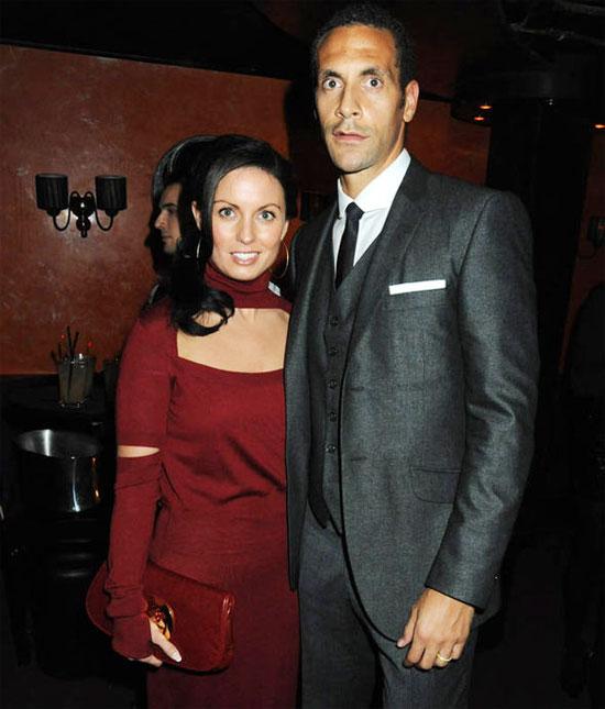 Ferdinand và vợ cũ gắn bó gần 20 năm trước khi Rebecca qua đời vì ung thư vú năm 2015.