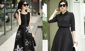 Á hậu Tú Anh làm quý cô thanh lịch trong trang phục Sohee