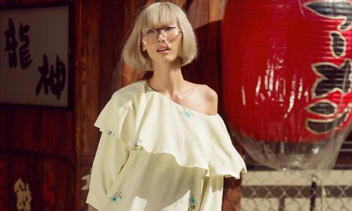 Hơi thở hoa cỏ trên váy áo xuân hè bay bổng
