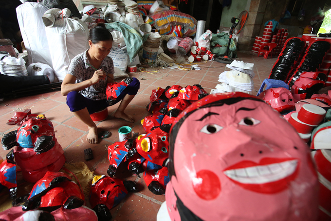 Thôn Hảo - nơi tìm về tuổi thơ với đồ chơi Trung thu truyền thống