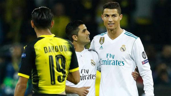 Siêu sao Real lập cú đúp trong trận thắng 3-1 trước Dortmund