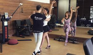 Bà bầu của C. Ronaldo học nhảy salsa