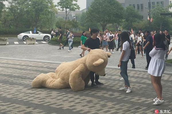 Người trong mộng của vị phú nhị đại chỉ nhận gấu, không nhận tình cảm.