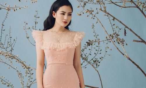 Ngọc Lan diện váy ôm khít eo, khoe dáng thon sau khi giảm 20kg