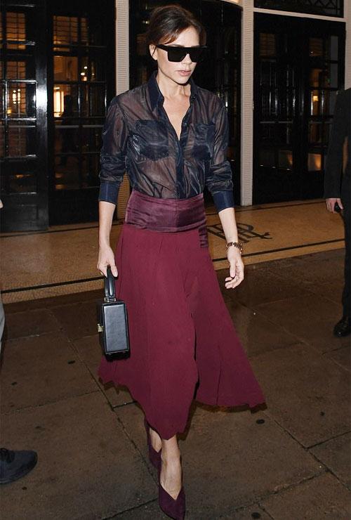 Tối 27/9, Vic rời khách sạn Sheraton ở London
