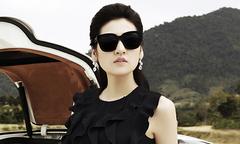 Tú Anh khoe vẻ thanh lịch, duyên dáng với váy áo đen, trắng