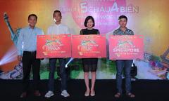 Khách hàng trúng thưởng chương trình ưu đãi của Sun World