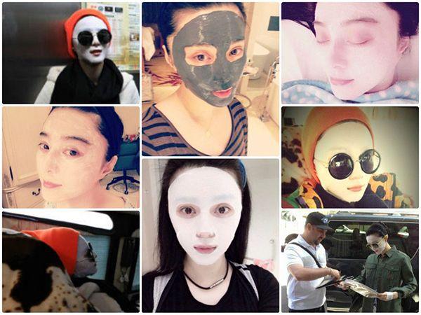 Phạm Băng Băng là tín đồ của mặt nạ song cô phủ nhận tin đắp 2 miếng mặt nạ mỗi ngày.