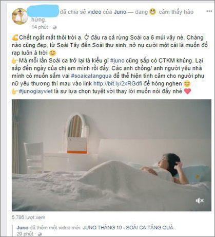 Teaser của Juno thu hút khán giả trên mạng xã hội.
