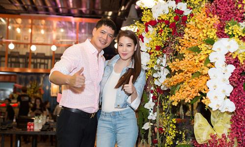 Trương Ngọc Ánh trẻ trung đến chúc mừng Bình Minh 'lên chức'