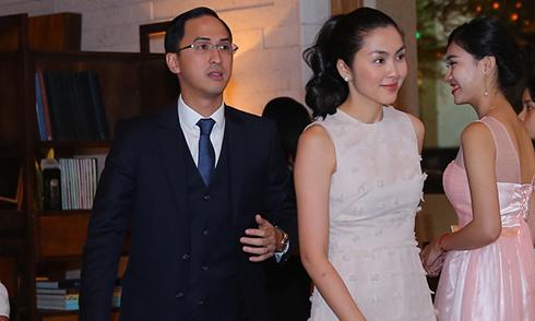 Vợ chồng Tăng Thanh Hà và dàn sao đi đám cưới Đặng Thu Thảo