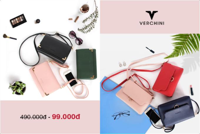Nhân ngày Phụ nữ Việt Nam, Verchini triển khai chương trình ưu đãi lớn trong năm Săn túi đồng giá 99.000 đồng cho mỗi hóa đơn từ 199.000 đồng trở lên. Chương trình bắt đầu từ mùng 10 đến 21/10.