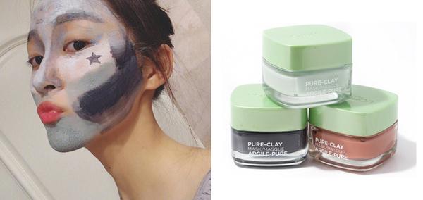 Một loại mặt nạ khác được mỹ phân 9X yêu thích là LOreal Pure Clay Mask. Sản phẩm có giá khoảng 300.000 đồng.