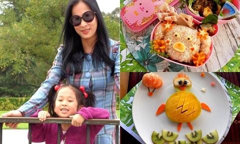 Mẹ Việt tạo niềm vui đến trường cho con bằng hộp cơm trưa ngộ nghĩnh