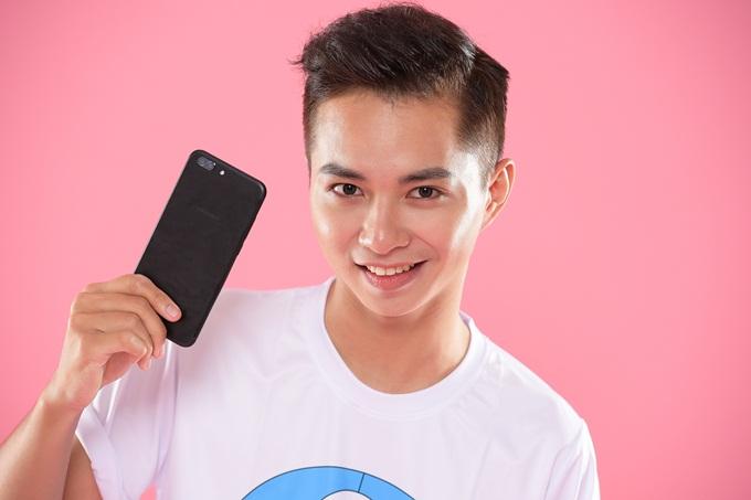 Anh chàng Trường Giang được ban tổ chức đánh giá cao biểu cảm qua đôi mắt.