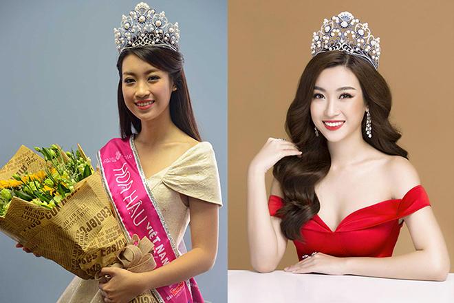 Hành trình từ cô sinh viên Đại học Ngoại Thương đến Hoa hậu Việt Nam của Mỹ Linh là bước tiến dài, khác biệt so với trước đây. Từ lúc mới đăng quang đến hiện tại, cô lột xác cả về ngoại hình lẫn phong cách.